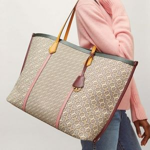 New Tory Burch Perry Jaquard Tote!